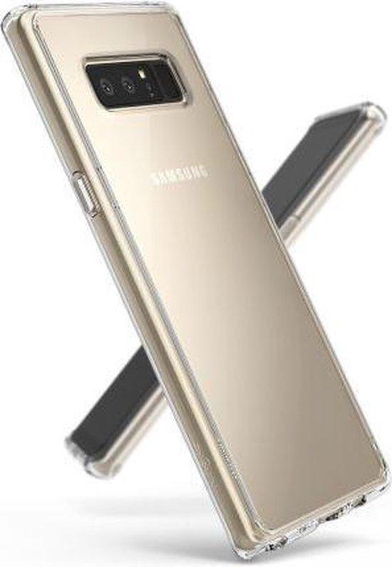 Samsung Galaxy Note 8 Hoesje Transparant - Siliconen Case
