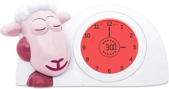 Product: Zazu Sam Slaaptrainer - Met nachtlamp functie en slaaptimers -  Roze / Wit, van het merk Zazu