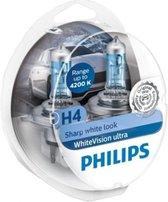 Philips WhiteVision Ultra H4 12342WVUSM - set