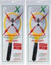 HG X Muggenverdelger Vliegenverdelger Wespenverdelger | Elektrische Vliegenmepper | 2 Stuks !