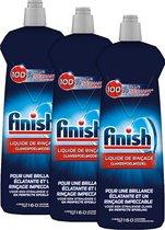 Finish Glansspoelmiddel Regular Vaatwasmiddel - 3x 160 Afwasbeurten - 3x 800 mL - Voordeelverpakking