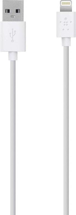 MIXIT Apple iPhone Lightning naar USB Kabel - 3 meter - Wit