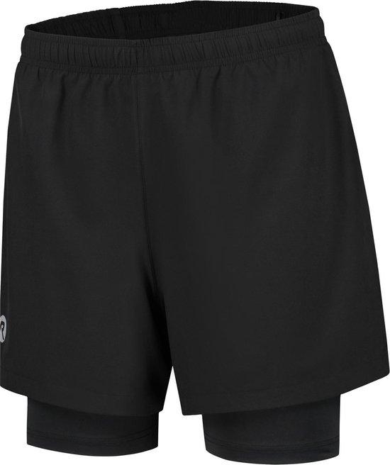 Running 2-in-1 Short Matrix Zwart XL