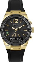 GUESS Connect smartwatch 41mm - Zwart
