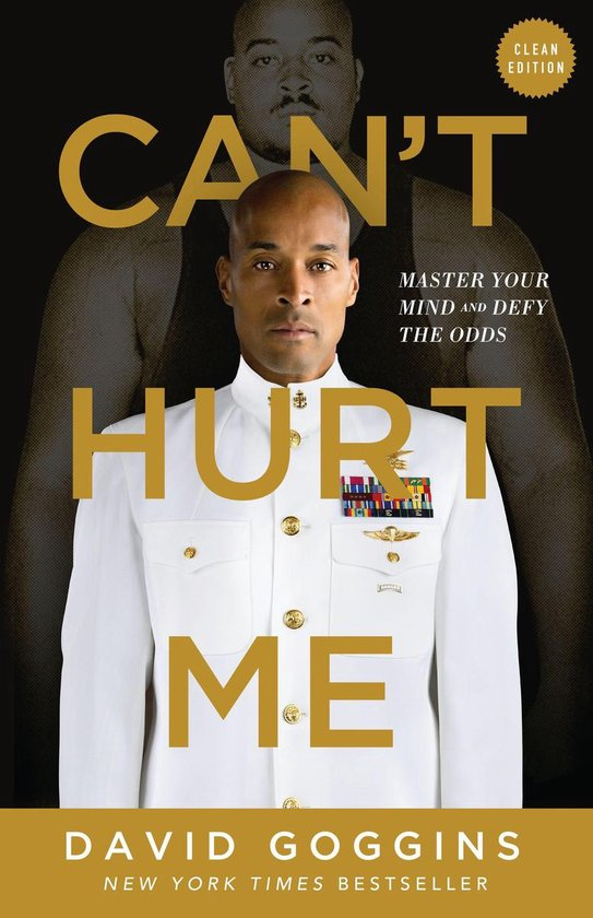 Boek cover Cant Hurt Me van David Goggins (Onbekend)