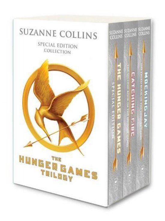 Afbeelding van Hunger Games Trilogy (white anniversary boxed set)