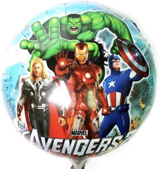 Avengers Ballon - Hulk -Iron Man-Thor-Captain America - Helium -Lucht- 18 Inch