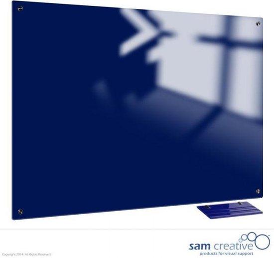 Afbeelding van Glassboard Marine Blue Magnetic 90x120 cm