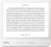 Kobo Libra H2O e-reader - Waterdicht - Grote 7 inch scherm - Instelbaar warme kleur - 8GB - Wifi - Wit