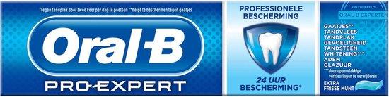 Oral-B Pro-Expert Professionele Bescherming - 4x75 ml - Tandpasta - Oral B