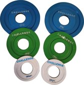 Challenge Barbell Fractional Plates Set - Change Plates - Powerlifting - Gewichtheffen - Olympische Schijven
