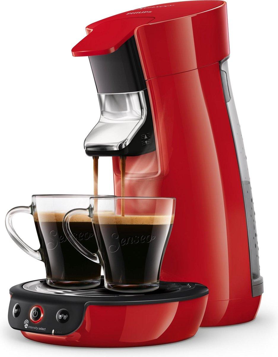 Philips Senseo Viva Café HD656380 Koffiepadapparaat Rood