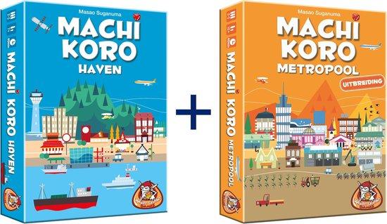 Afbeelding van het spel Machi Koro Haven & Metropool uitbreiding