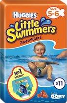 Huggies Little Swimmers Zwemluiers - Maat 5/6 - 12-18 kg - 11 stuks