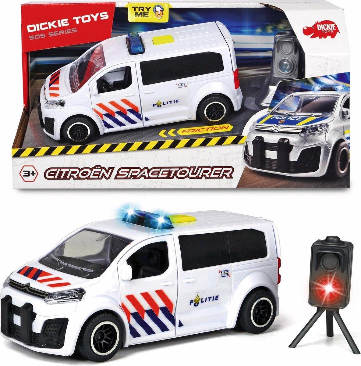 Dickie Citroen SpaceTourer Belgie - Politiewagen