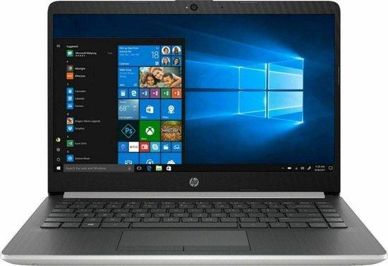 HP 14-cf0012dx 14 inch HD scherm / Intel Pentium Gold 4417U / 4 GB / 128 GB M.2 SSD / Windows 10 Home