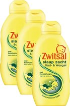 Zwitsal Slaap Zacht Eucalyptus Bad & Wasgel - Voordeelverpakking 3 x 200 ml