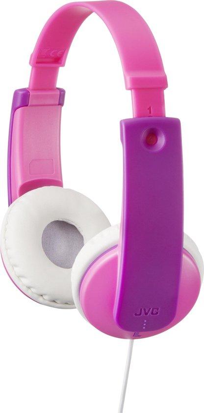 JVC HA-KD7 - On-ear kinder koptelefoon - Roze