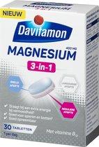 Davitamon Magnesium 3-in-1 Voedingssupplement - 30 tabletten