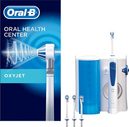 Oral-B OxyJet - Blauw, wit - Waterflosser
