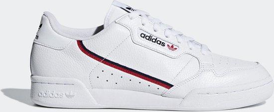 adidas Continental 80 Heren Sneakers - Cloud White/Scarlet/Collegiate Navy - Maat 42 2/3
