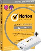 Norton Premium 25 GB 10 apparaten + Powerbank