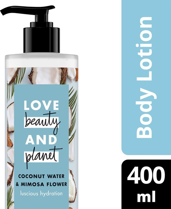 Love Beauty and Planet Bodylotion Coconut Water & Mimosa Flower - 400 ml