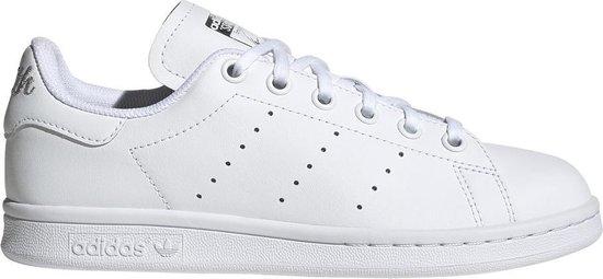 Adidas Jongens Lage sneakers Stan Smith J - Wit - Maat 36
