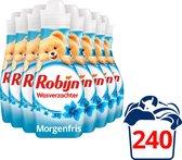 Robijn Morgenfris Wasverzachter - 8 x 30 wasbeurten - Voordeelverpakking