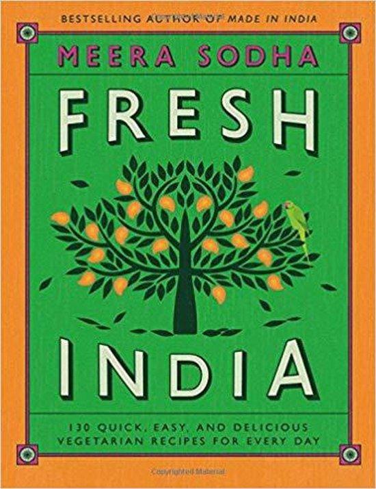 Boek cover Fresh India van Meera Sodha (Hardcover)