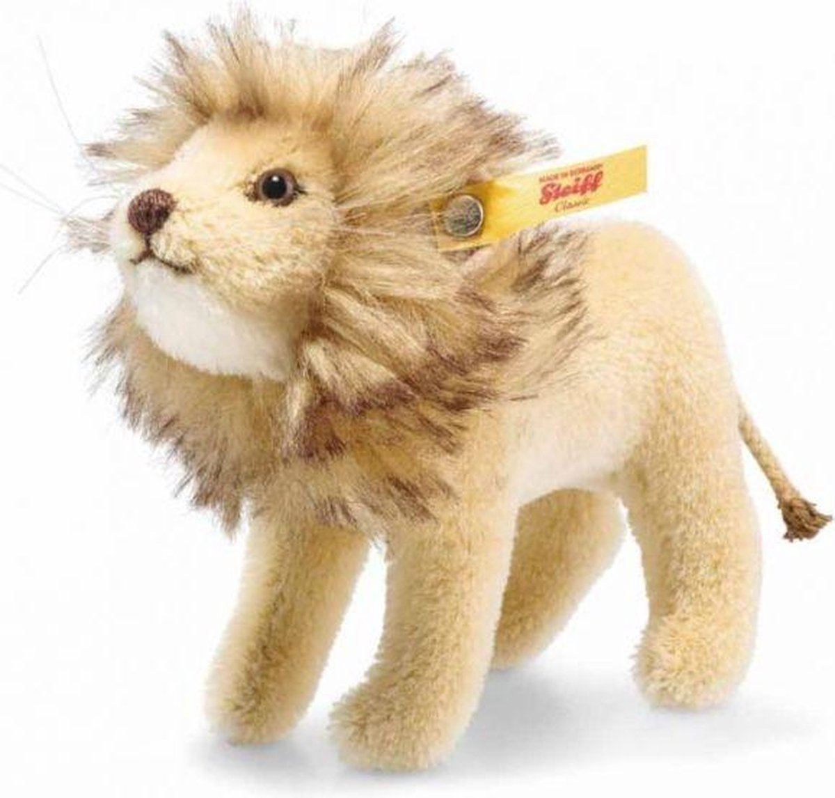 Steiff National Geographic lion in gift box, blond2) - 13cm