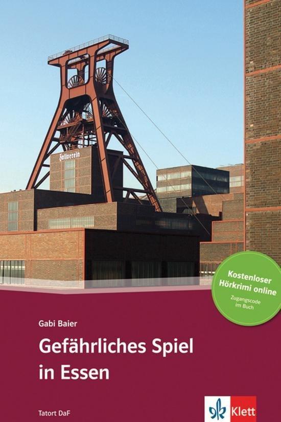 Tatort DaF - Gefährliches Spiel in Essen (A2-B1) Buch + Acce