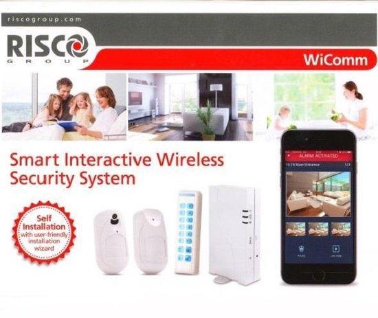 Risco WiComm draadloos alarmsysteem kit 3 (professioneel systeem)