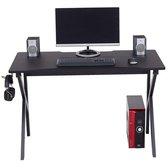Moderne koolstofvezel computer- en gamebureau - Piranha Furniture Zorro