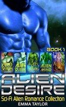 Alien Desire : Scifi Alien Romance Collection