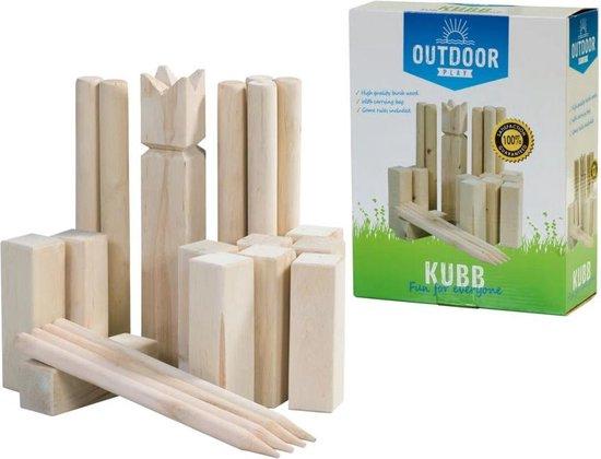 Afbeelding van Outdoor Play Kubb Game
