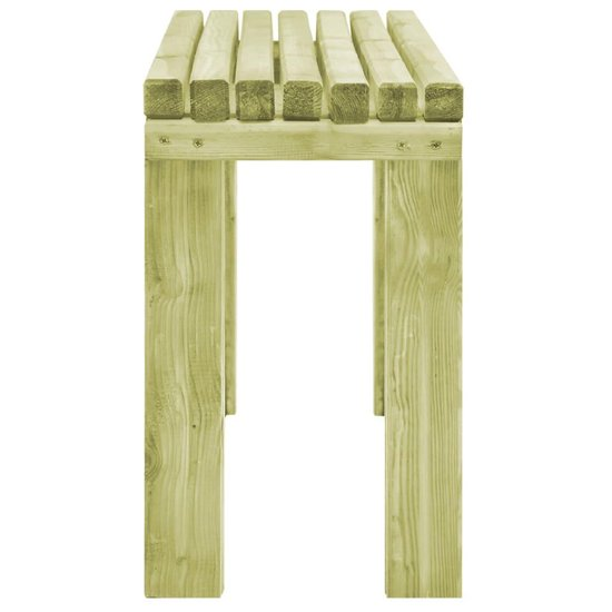 vidaXL Eetkamerbank 150x27,5x45 cm FSC geïmpregneerd grenenhout