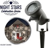 Night Stars Laser light Feestverlichting LED projector  - Tuinverlichting - Holiday Charms