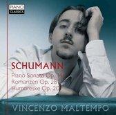 Schumann: Piano Sonata Op.14 - Romanzen Op.28 - Hu