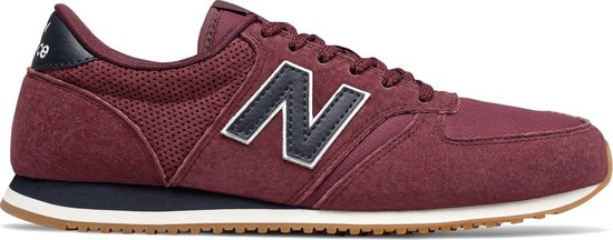 New Balance U420 D Heren Sneakers - Burgundy - Maat 37