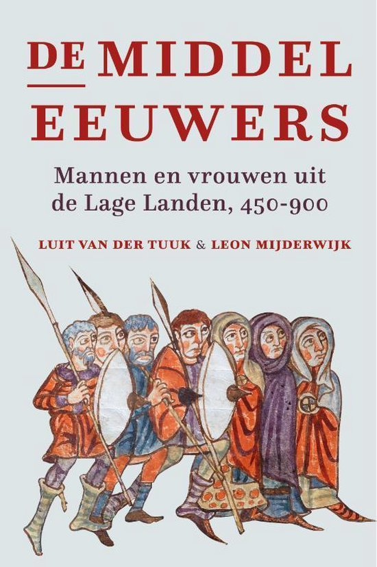 Boek cover De middeleeuwers van Luit van der Tuuk (Paperback)