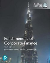 Boek cover Fundamentals of Corporate Finance, Global Edition van Jonathan Berk (Paperback)