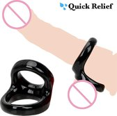 Quick Relief Cockring Essential™ - Cockring - Penis Ring Man - Cock Ring Siliconen - Sex toys - Seksspeeltje voor Mannen