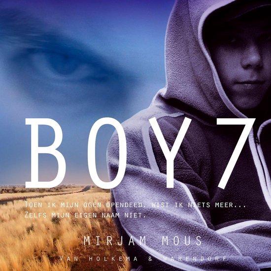 Boek cover Boy 7 van Mirjam Mous (Onbekend)