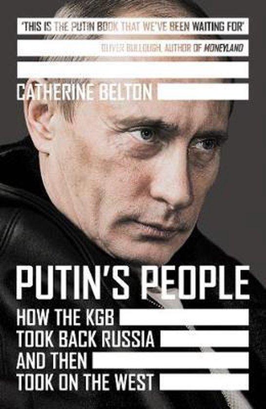 Boek cover Putins People van Catherine Belton (Hardcover)