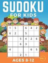 Sudoku For Kids Ages 8-12: Sudoku 6x6 Volume 2, Level