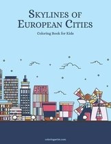 Skylines of European Cities Coloring Book for Kids