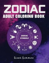 Zodiac Adult Coloring Book