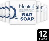 Neutral Zeep Parfumvrij  -12 x 2 x 100 g - Voordeelverpakking