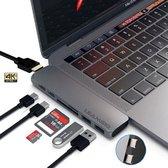 7 in 1 USB C Hub - Adapter voor Macbook Pro/Air- U